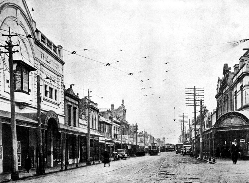 Hopkins Street, Footscray, 1924 | thecollectormm.com.au