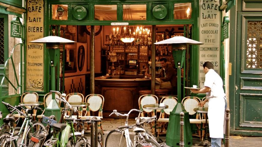 paris, brasserie, cafe
