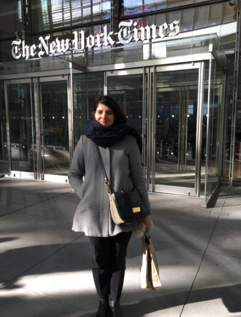 Freezing at the NYT